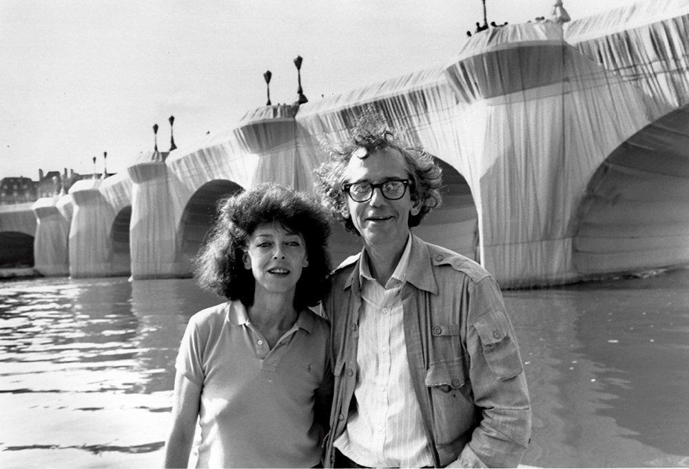C'était Christo et Jeanne-Claude